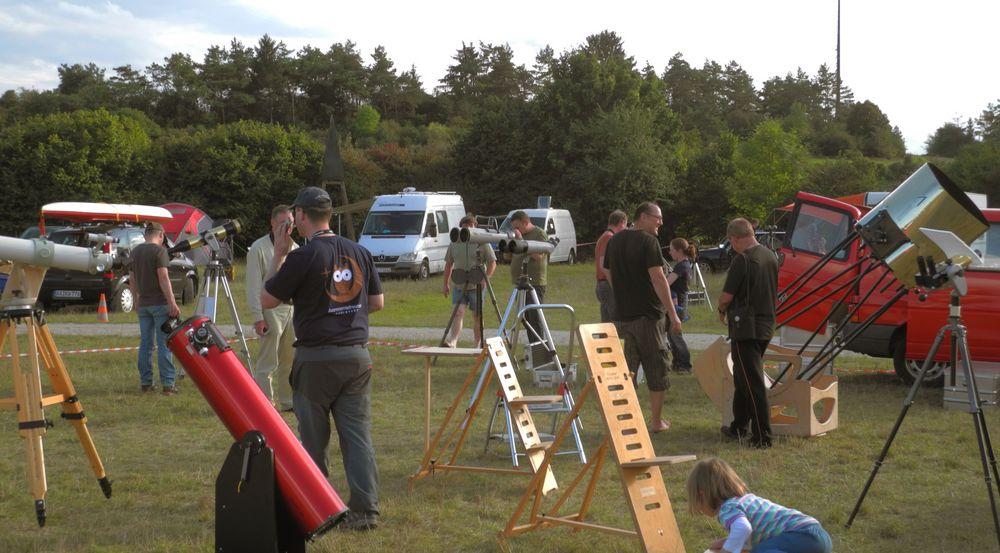 Teleskoptreffen: btm